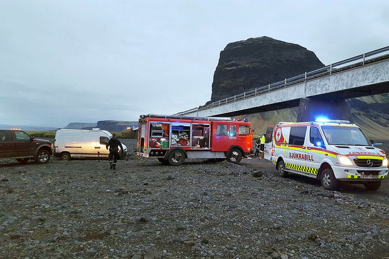 Three Brits including child dead after auto plunges off bridge in Iceland