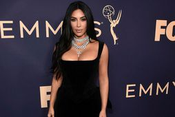 Kim Kardashian West vekur athygli að vanda.