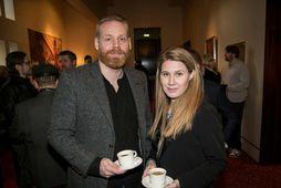Andri Óttarsson og Fanney Brina Jónsdóttir.