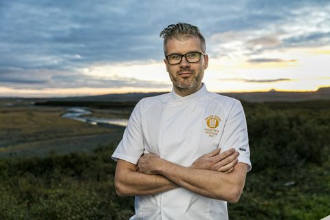 Þráinn Freyr Vigfússon has competed in the Bocuse d'Or.