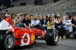 Slegist um formúlubíl Ferrari frá 2002 á uppboði