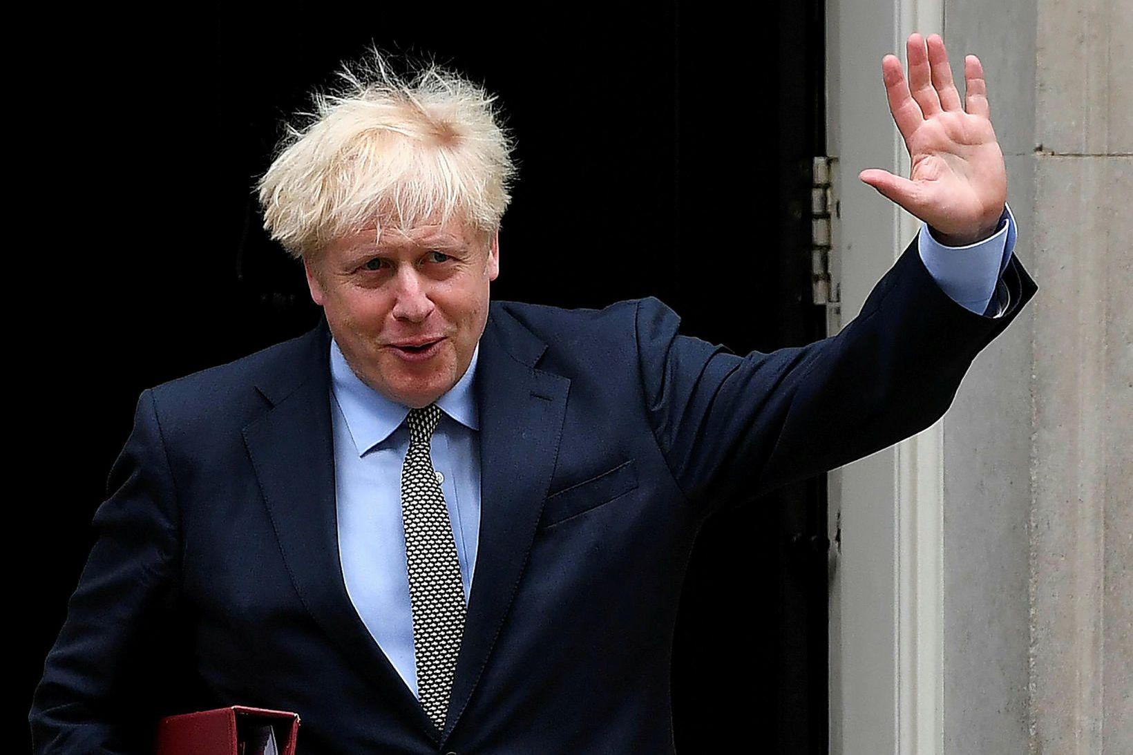 Boris Johnson er búinn að taka heilsuna föstum tökum eftir …