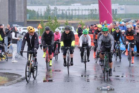 Þáttakendur í WOW Cyclothon
