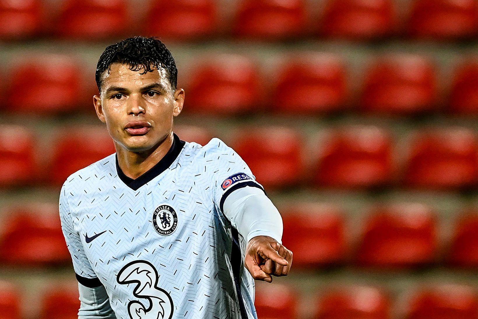 Thiago Silva hefur verið frábær í vörn Chelsea á tímabilinu.