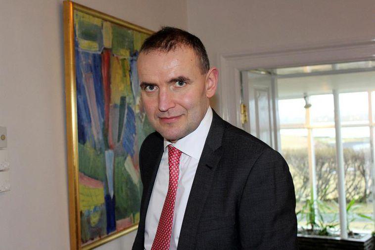 Guðni Th.Jóhannesson , President of Iceland.