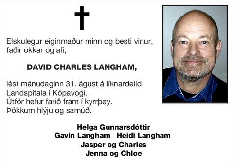David Charles Langham,