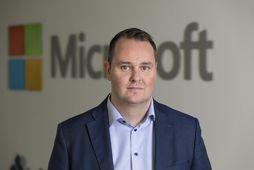 Axel Þór hefur starfað hjá Microsoft síðustu 13 ár sem þjónustustjóri Microsoft Services á Íslandi.