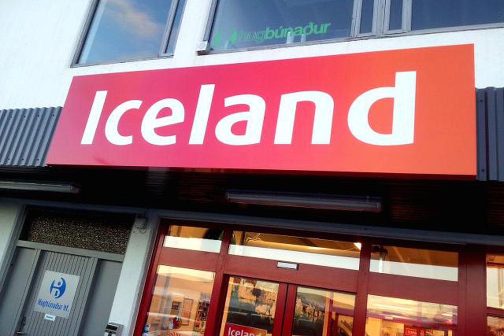 Verslun Iceland við Engihjalla.