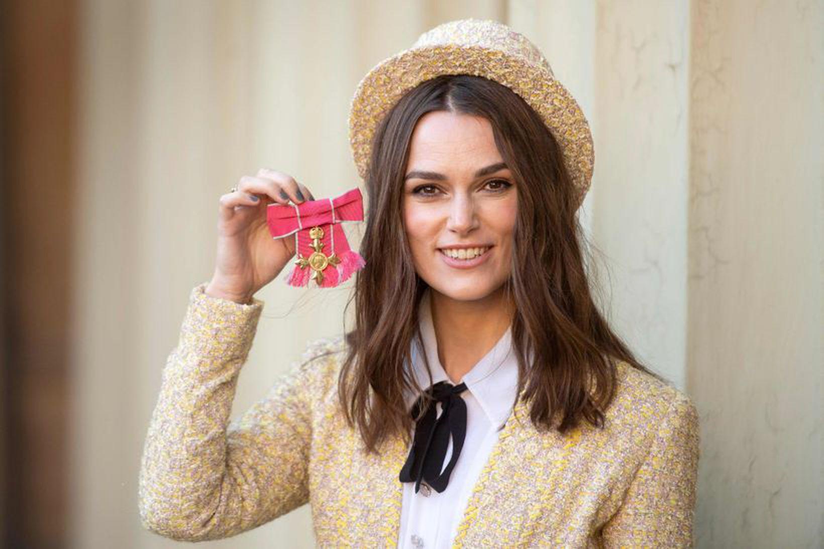 Keira Knightley er alltaf í Chanel.