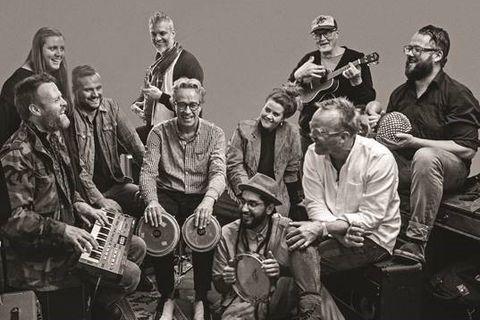 Tómas R. Einarsson and his Latin band