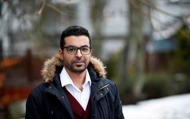 Ragheb Besaiso hefur verið búsettur á Íslandi í rúmt ár en hann kemur frá Palestínu.