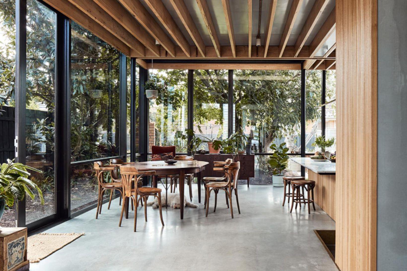 Harry House er gert með japönskum stíl fyrir fjölskyldu í …