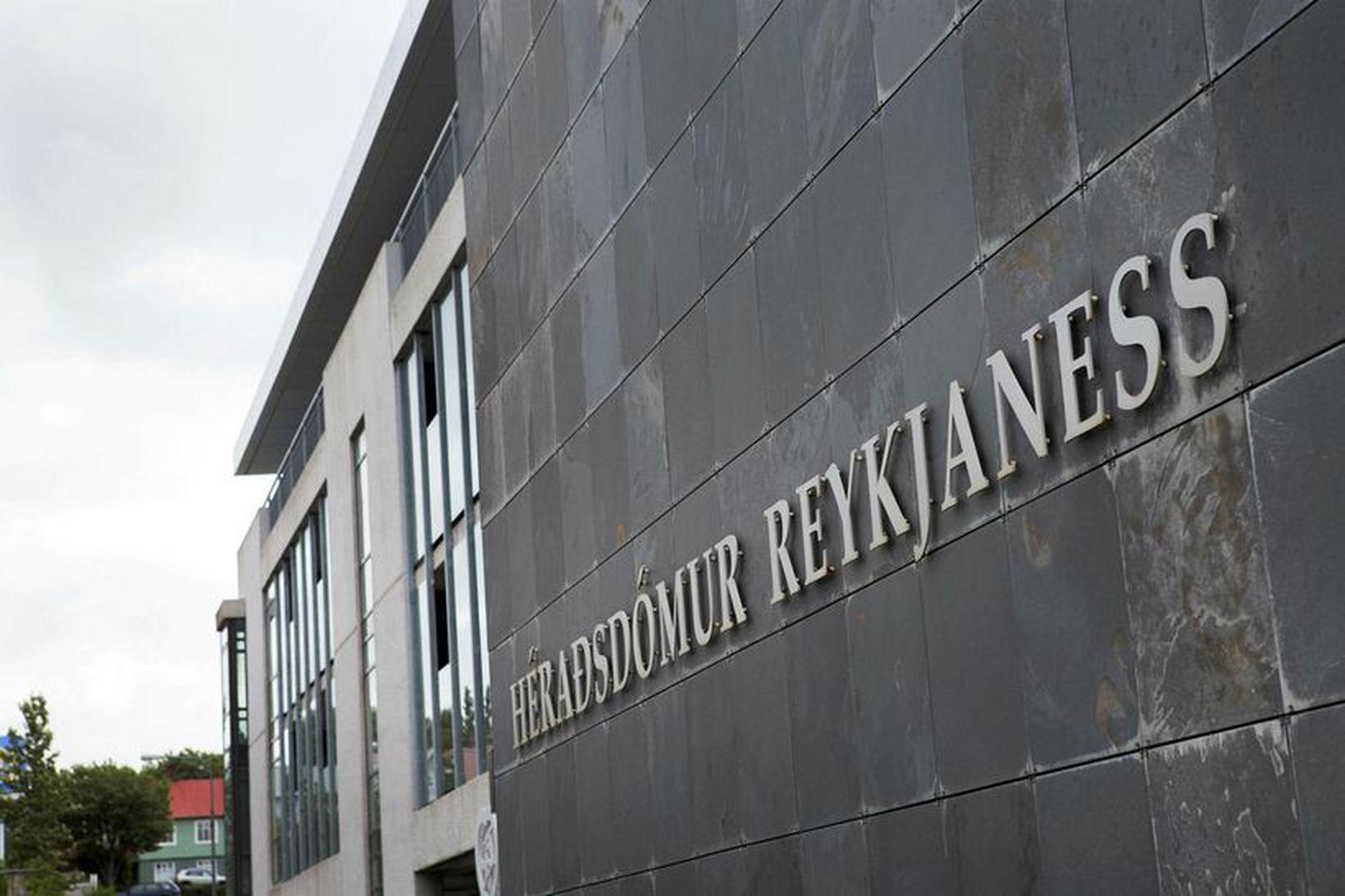 Ákæra á hendur manninum var þingfest í Héraðsdómi Reykjaness í …