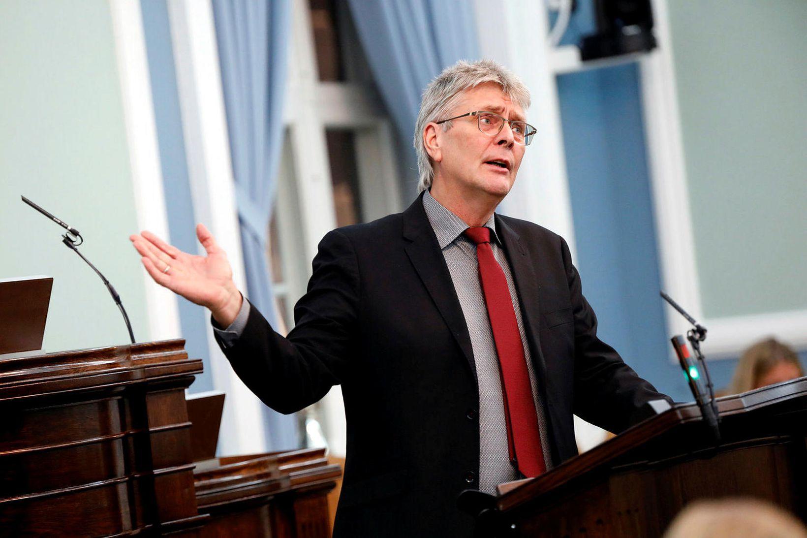 Guðmundur Ingi Kristinsson, þingmaður Flokks fólksins.