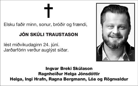 Jón Skúli Traustason