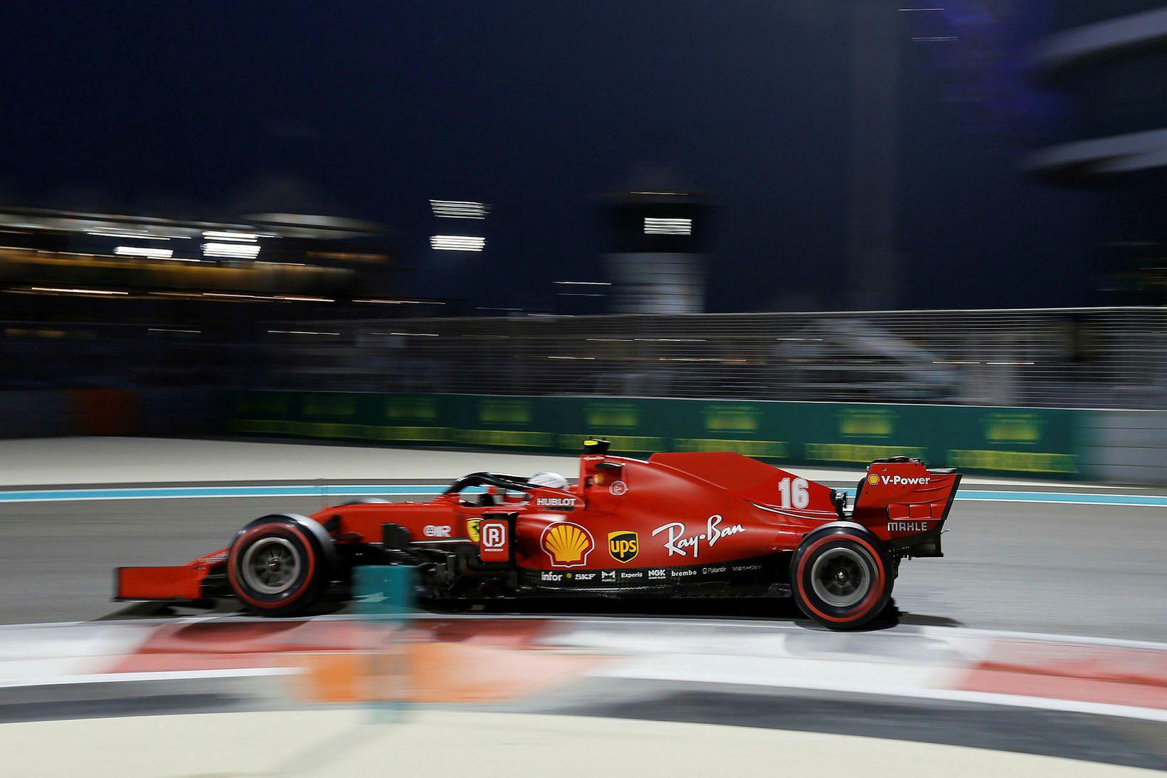 Charles Leclerc er einn þeirra sem keppir fyrir Ferrari í …