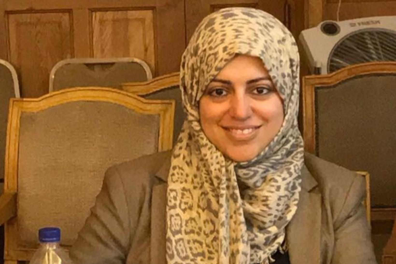 Nassima al-Sadi starfaði meðal annars sem dálkahöfundur áður en hún …