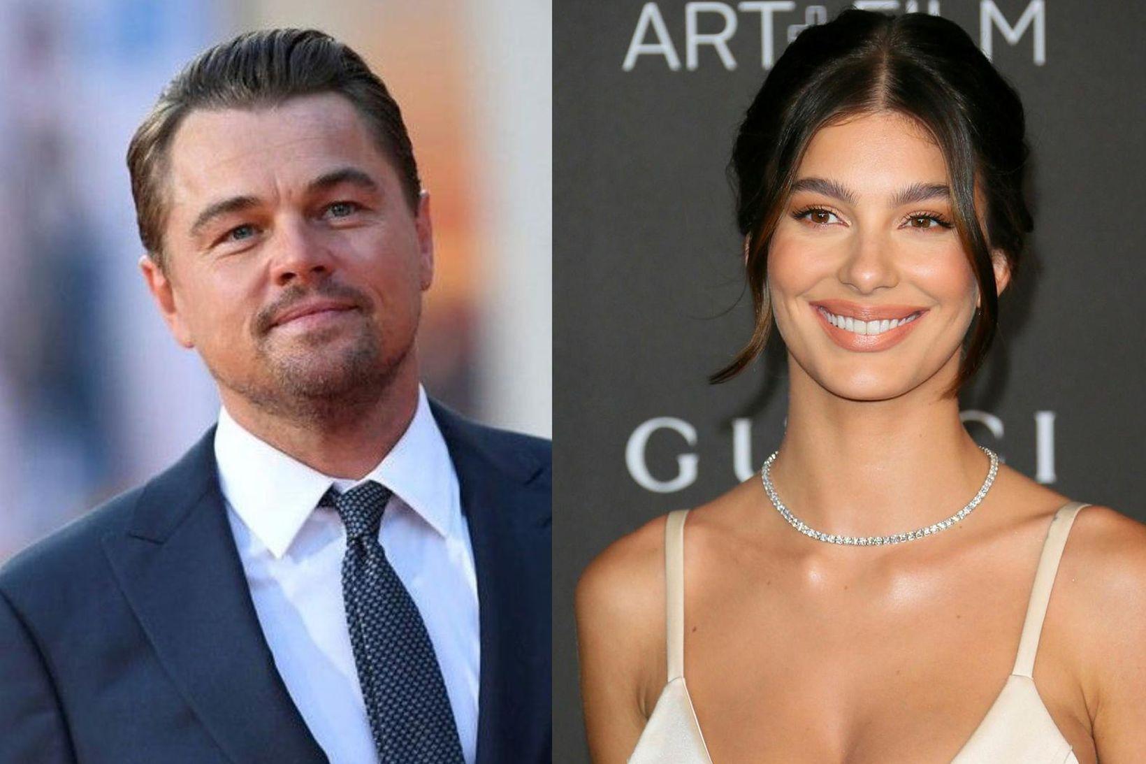23 ára aldursmunur er á þeim Leonardo DiCaprio og Camilu …