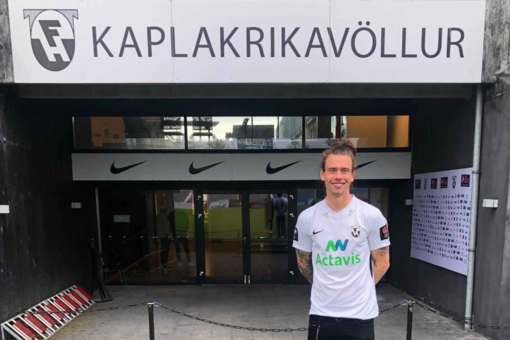 Ólafur Karl Finsen er kominn í FH.