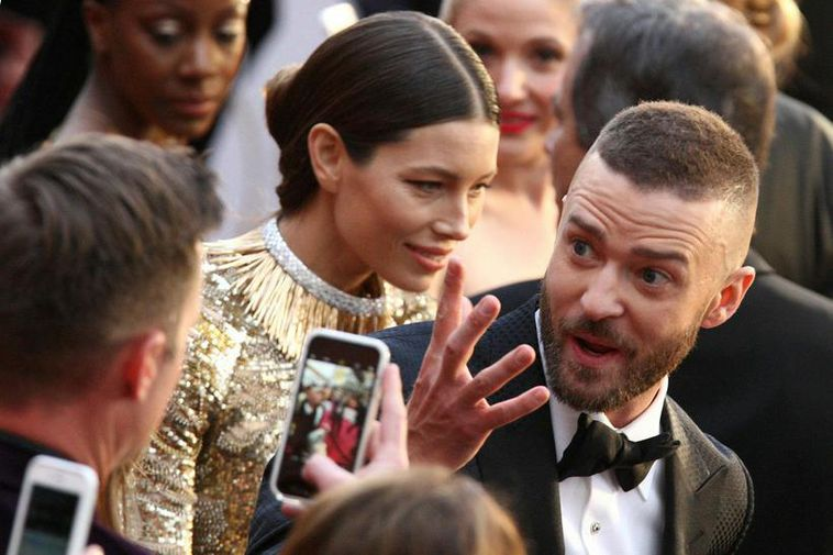 Justin Timberlake and his wife Jessica Biel are on vacation in Iceland.