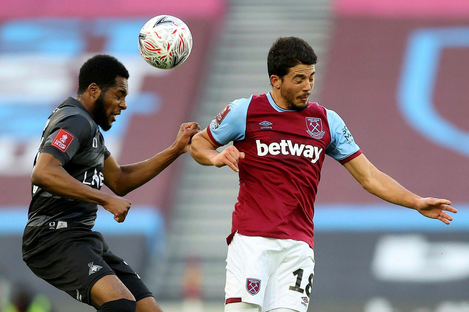 Pablo Fornals og félagar í West Ham United eru komnir …