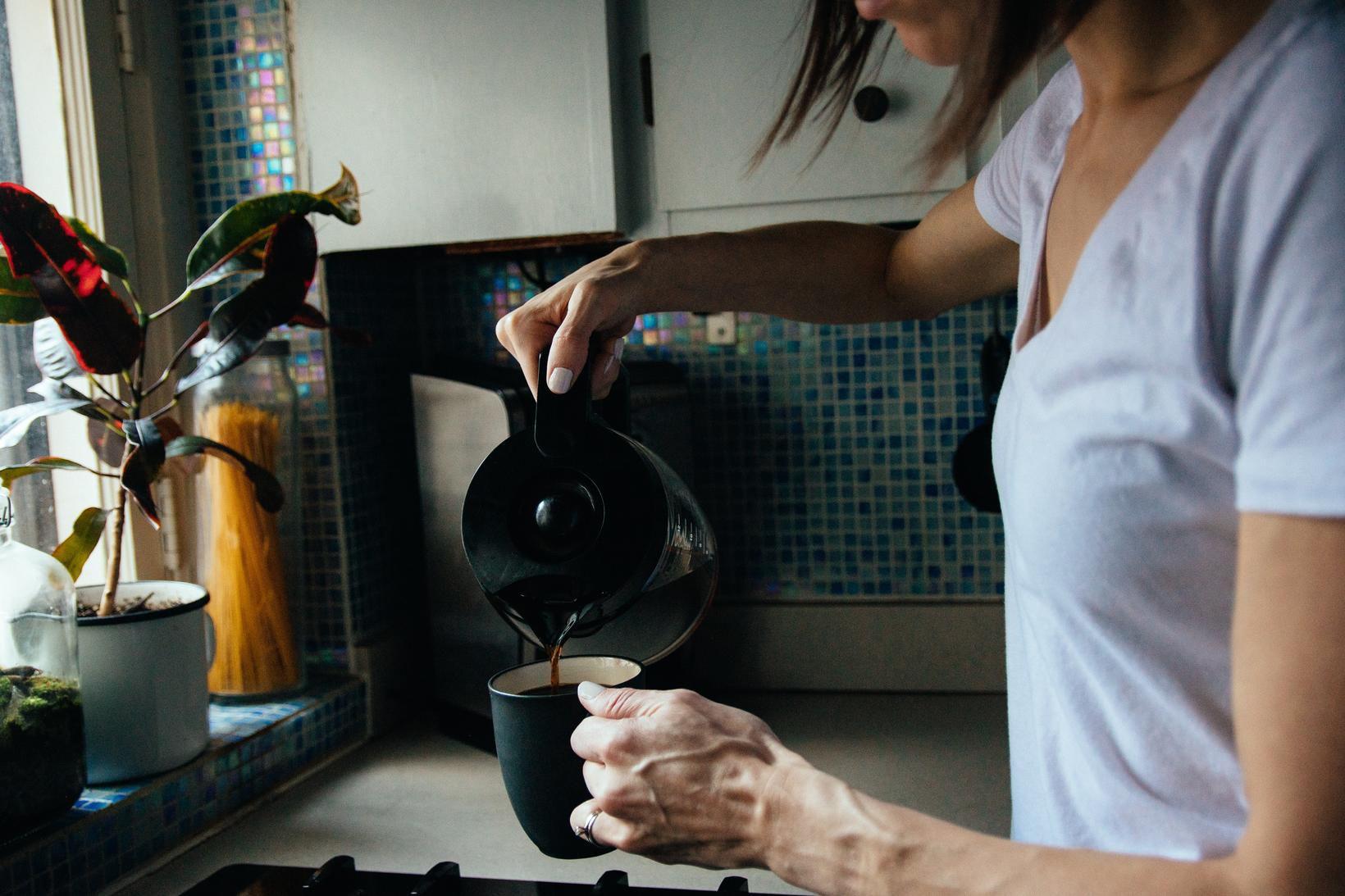 Sumir byrja daginn á góðum kaffibolla.