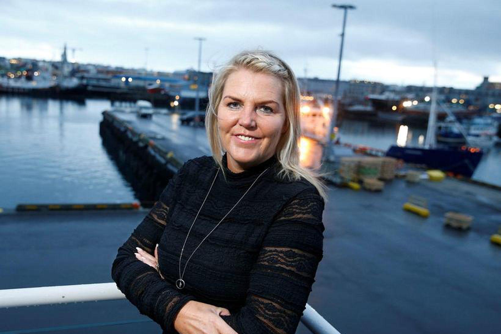 Berta Daníelsdóttir, framkvæmdastjóri Sjávarklasans.