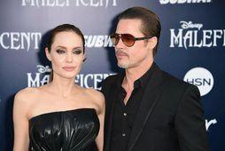 Angelina Jolie og Brad Pitt höfðu verið gift í tvö ár þegar leikkonan sótti um ...