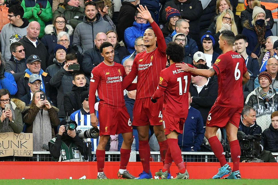 Liverpool á stuðningsfólk á ýmsum aldri.