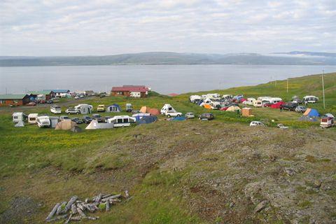 Drangsnes camping site