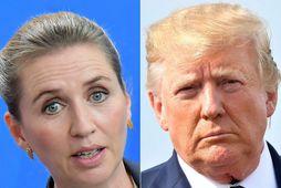 """""""Hún er yndisleg kona,"""" sagði Trump við blaðamenn."""
