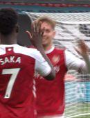 Mörkin: Arsenal lék á als oddi