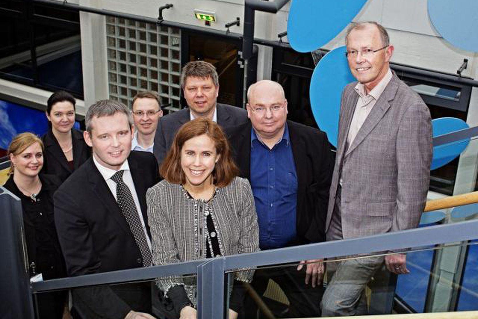 Ann Emilson, Vice President CU Nordic & Baltic Operators, Linda …