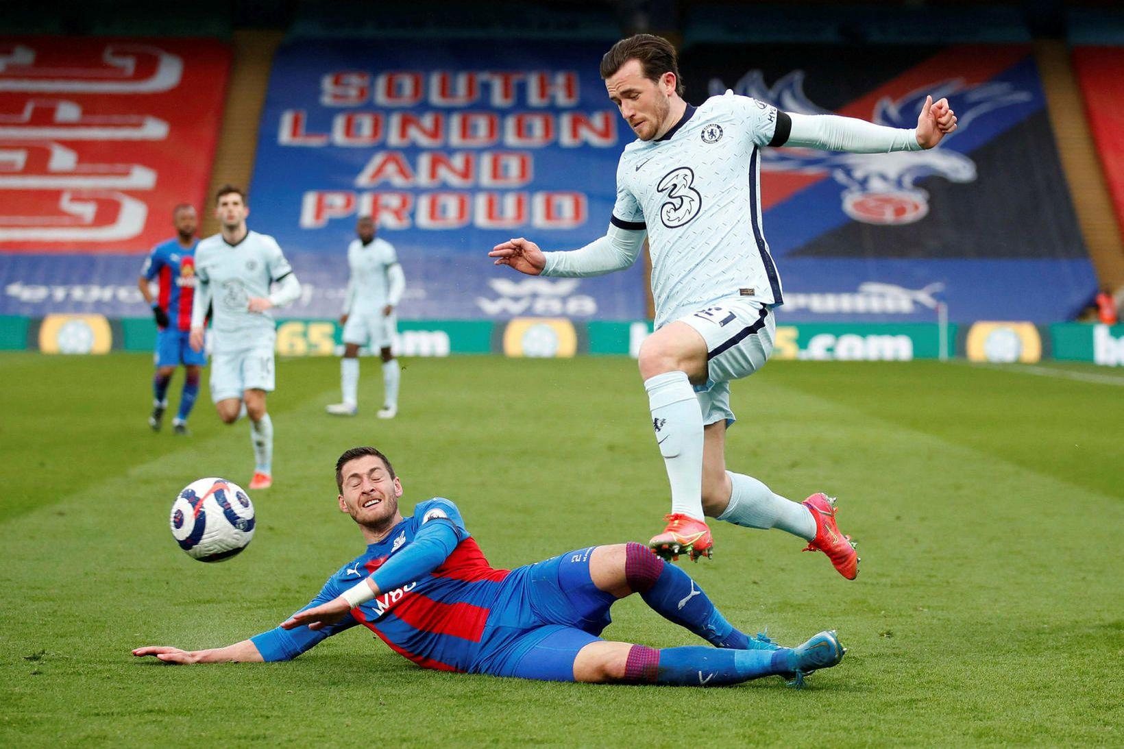 Chelsea lenti ekki í neinum vandræðum gegn Crystal Palace.