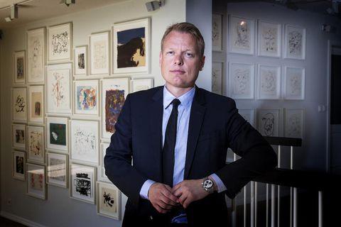 CEO of GAMMA, Gísli Hauksson.