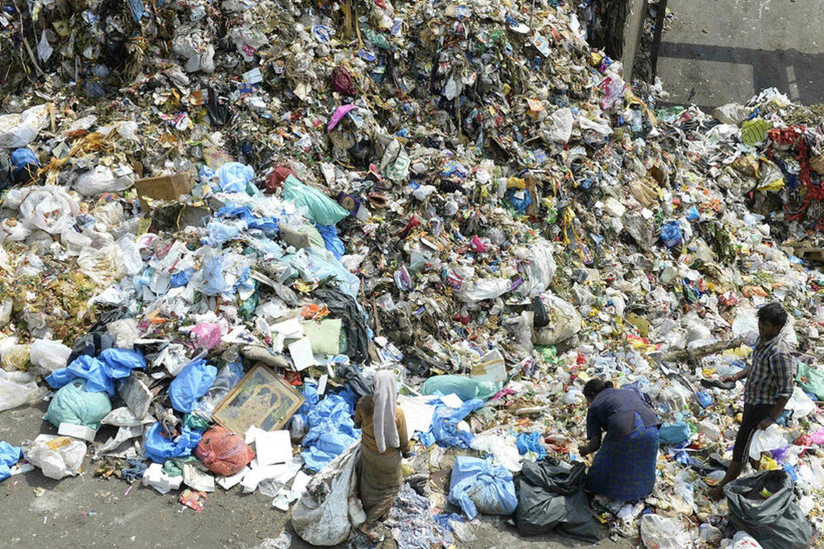 Plast er mengandi fyrir umhverfi og lífríki, ekki síst ef …