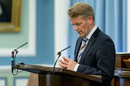Frosti Sigurjónsson, MP for the Progressive Party.