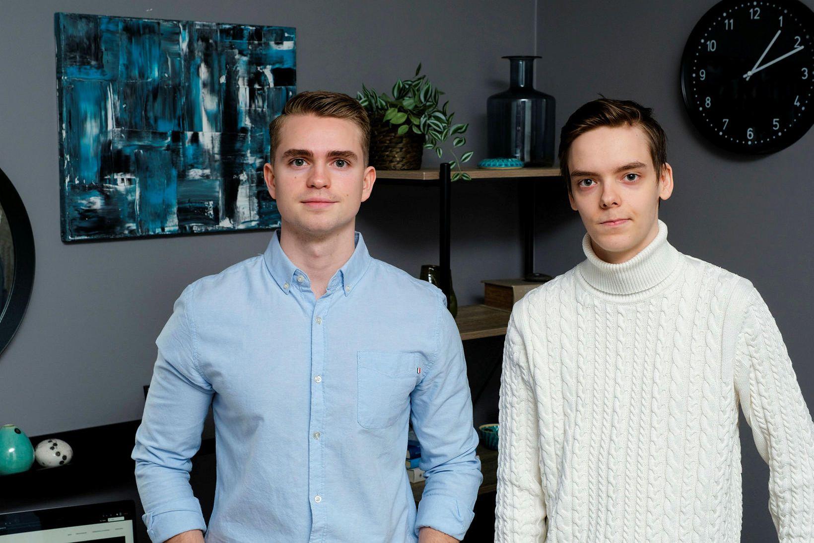 Steingrímur M. Steingrímsson og Dagur Snær Elísson eru æskuvinir frá …