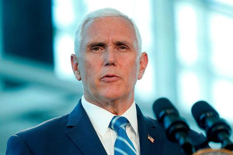 US Vice President Mike Pence.