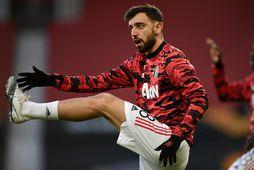 Bruno Fernandes, miðjumaður Manchester United.
