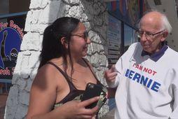 """""""Ég er ekki Bernie"""""""