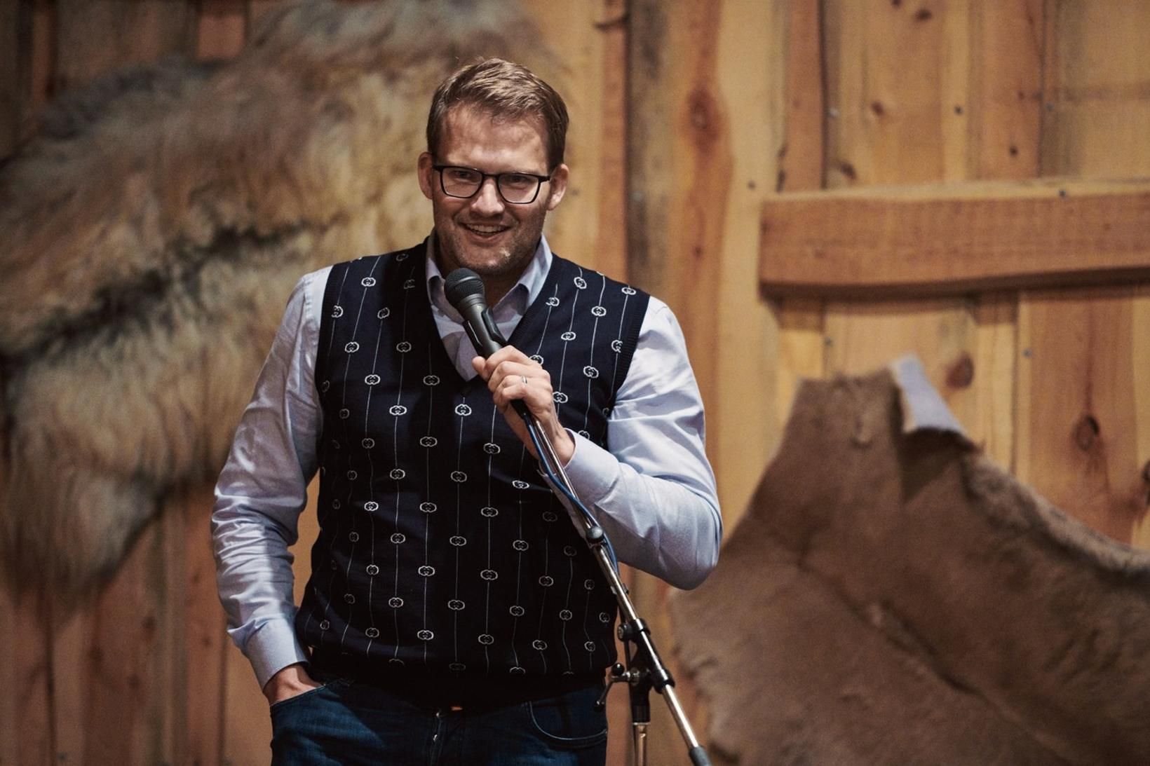 Róbert Wessman, stofnandi og stjórnarformaður Alvotech.
