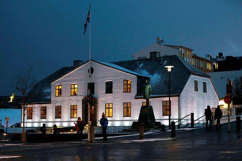 Stjórnarráðið hefur sent út tilkynningu vegna málsins.