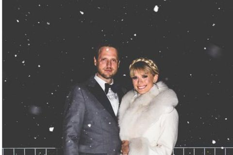 Mosha Lundström Halbert and Aidan Butler at Gamla Bíó in Reykjavik, Iceland.