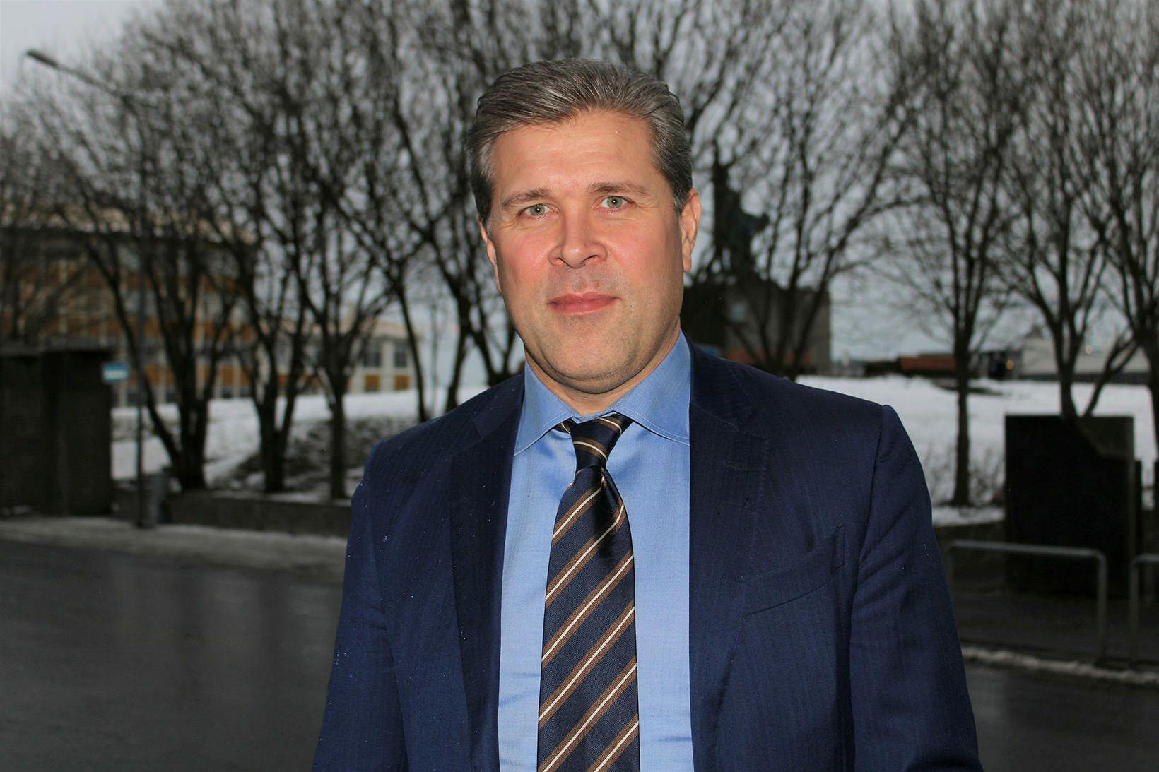 Bjarni Benediktsson forsætisráðherra og fjármálaráðherra.