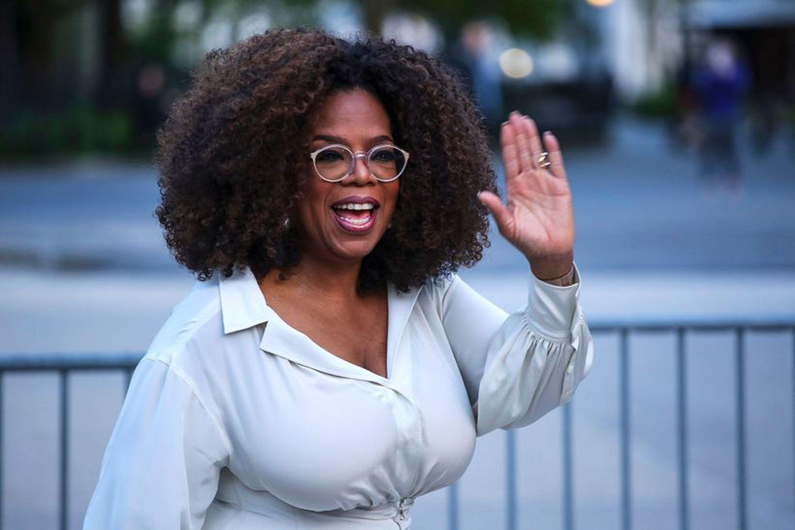 Oprah Winfrey faðmar ekki endilega alla sem hún sér á …