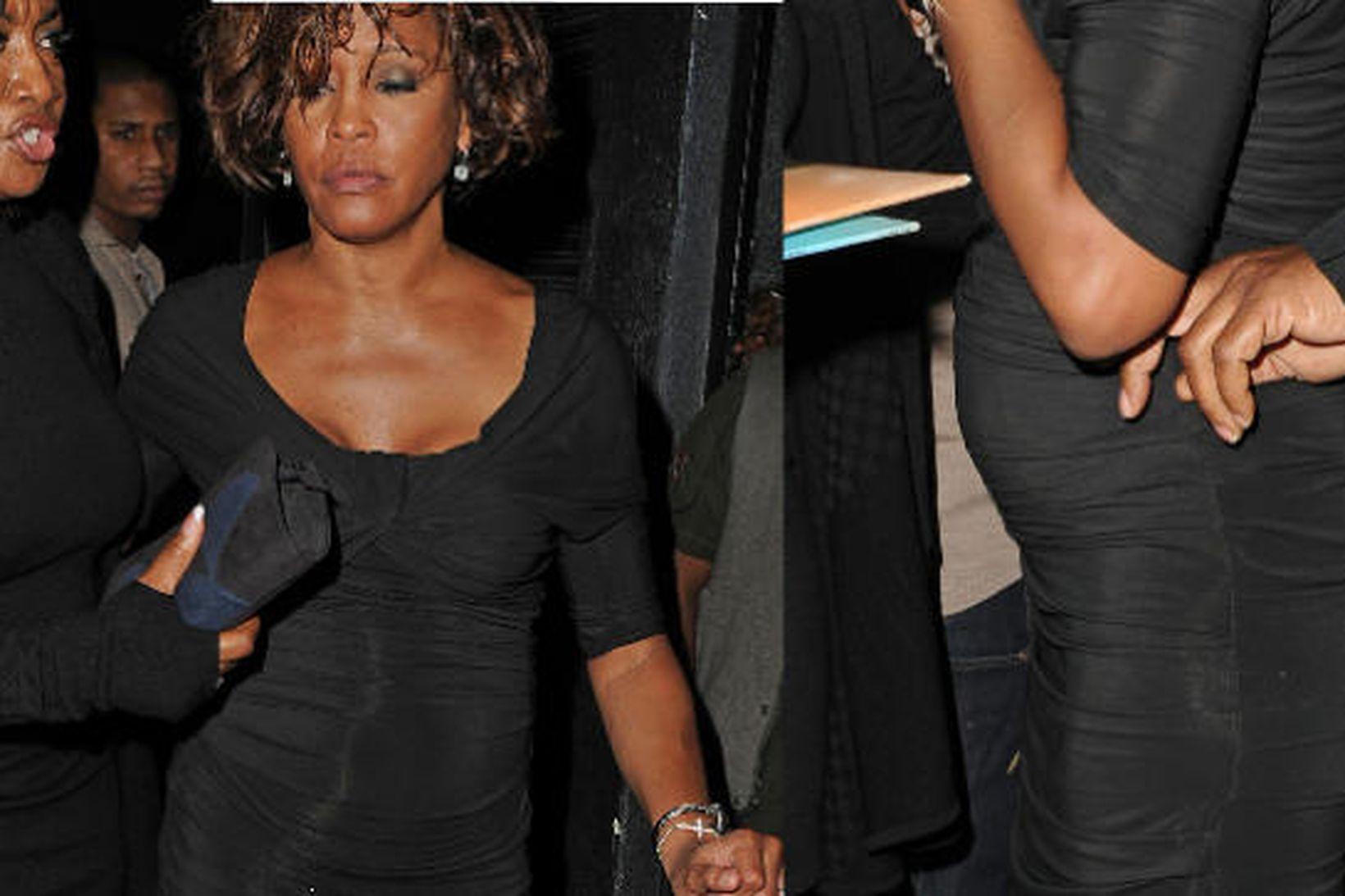 Whitney Houston þann 9. febrúar síðastliðinn.