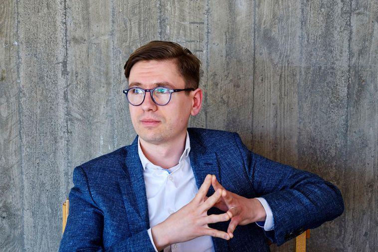 Pianist Víkingur Heiðar Ólafsson.