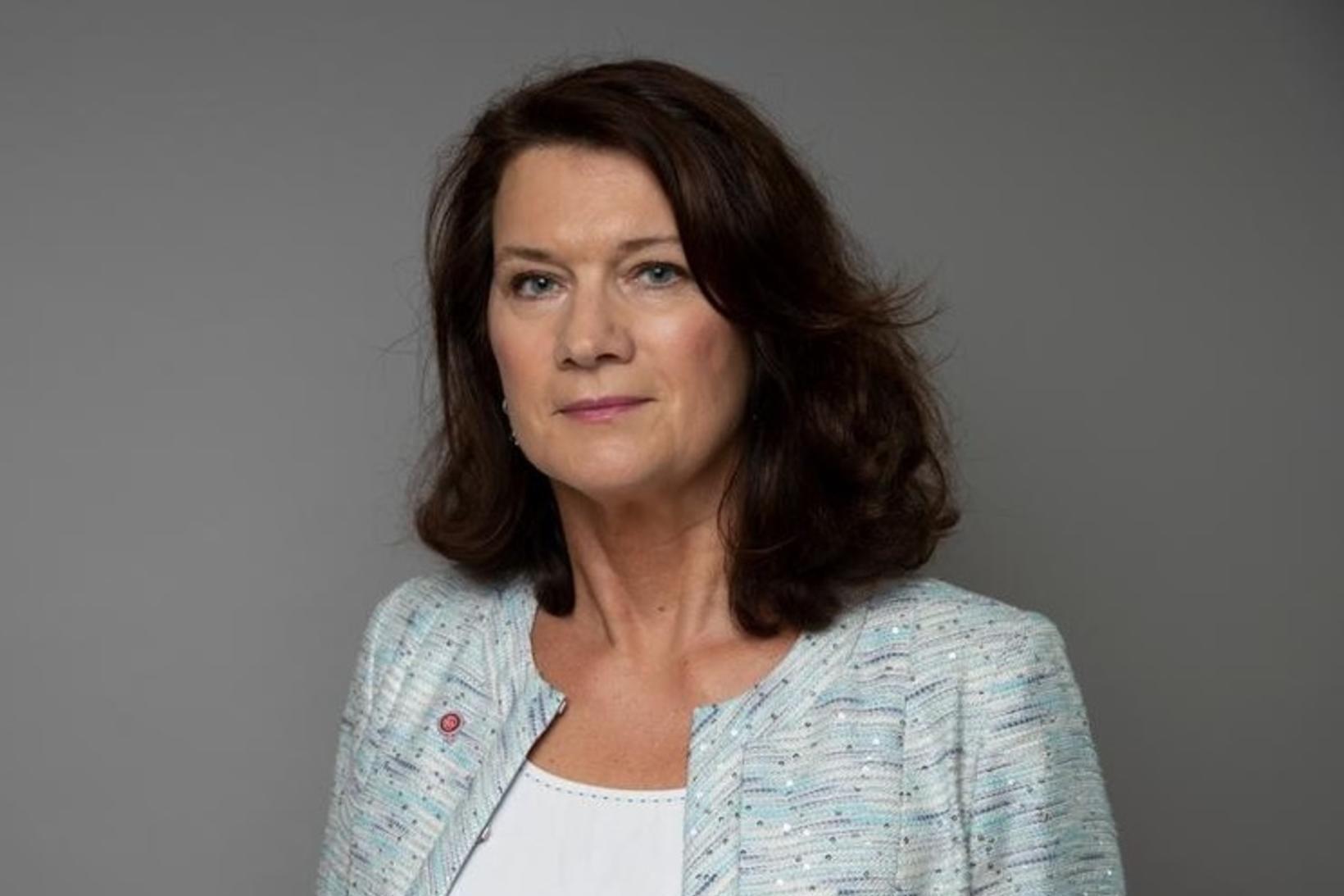 Anne Linde utanríkisráðherra Svíþjóðar.