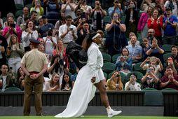 Tennisstjarnan Serena Williams.